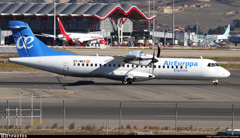EC-MEC - ATR 72-212A(500) - Air Europa Express (Swiftair)