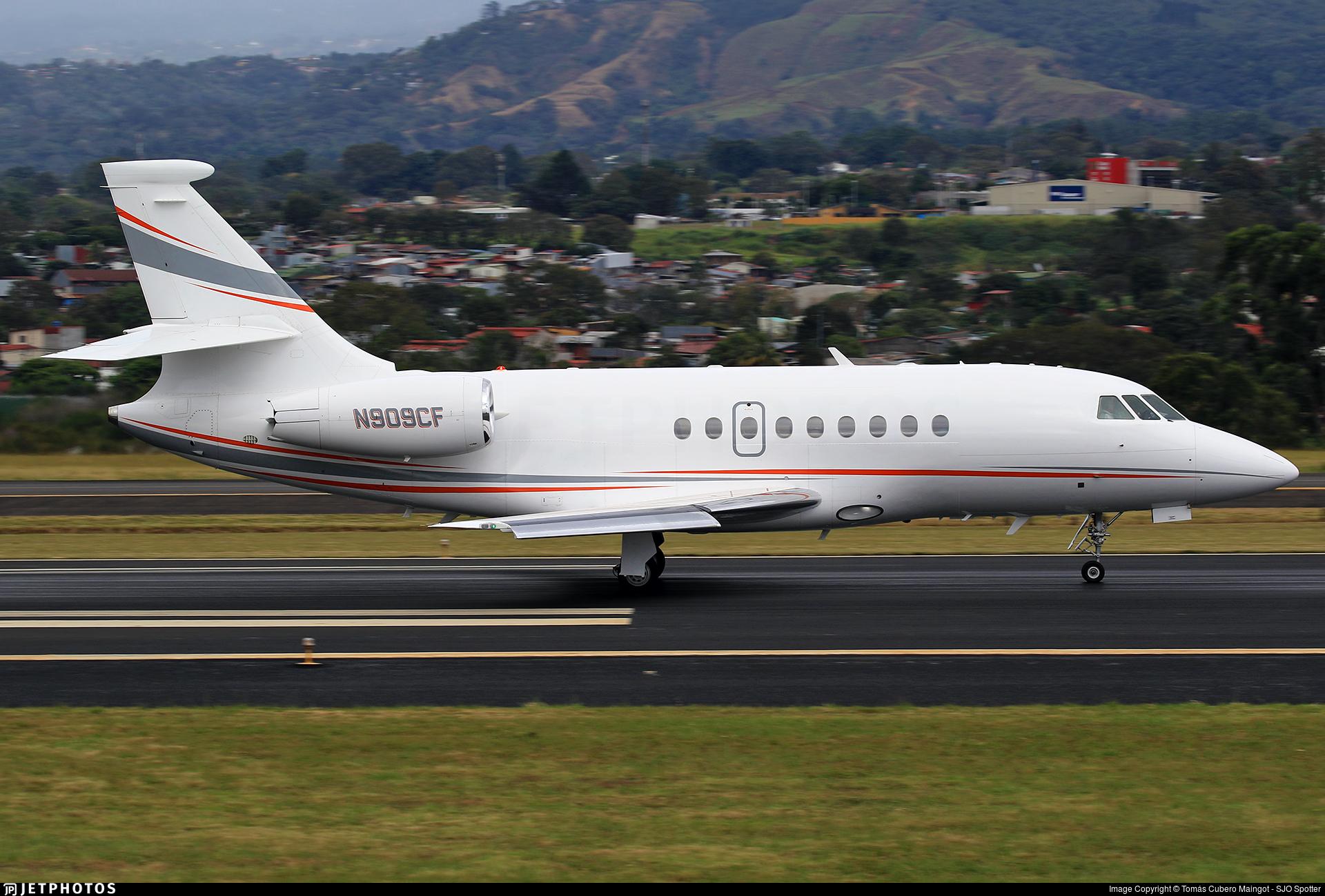 N909CF - Dassault Falcon 2000EX - Private