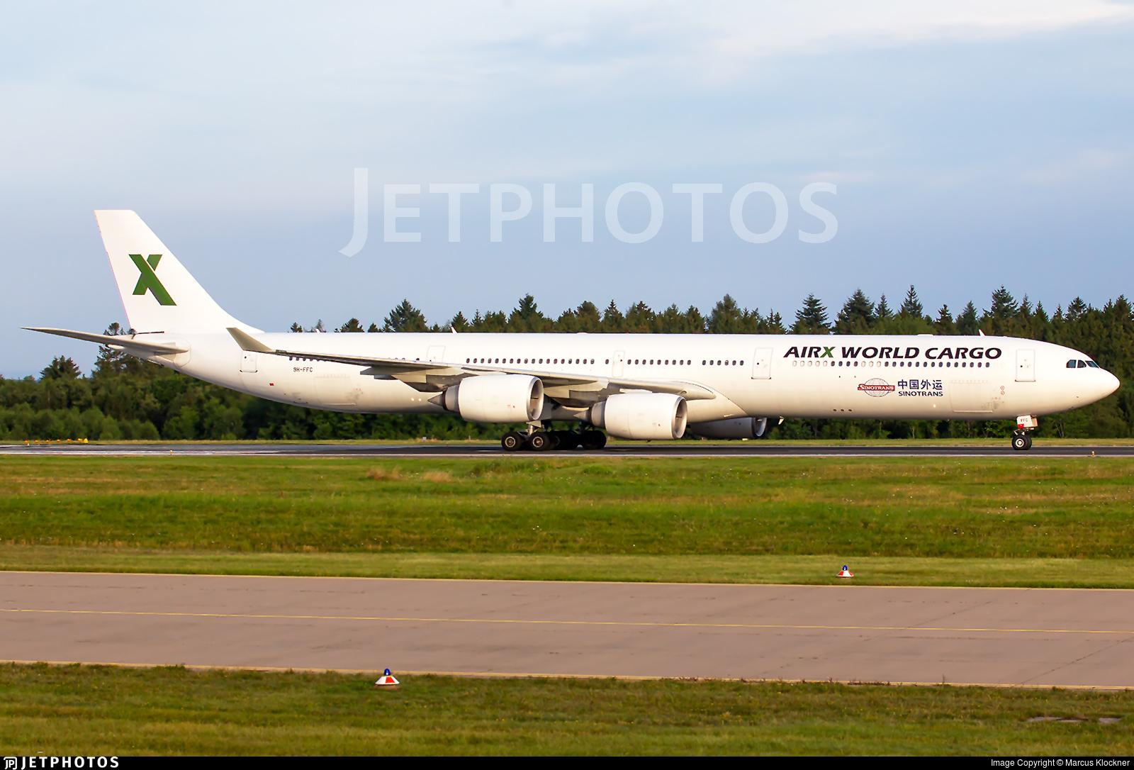 9H-FFC - Airbus A340-642 - Air X Charter