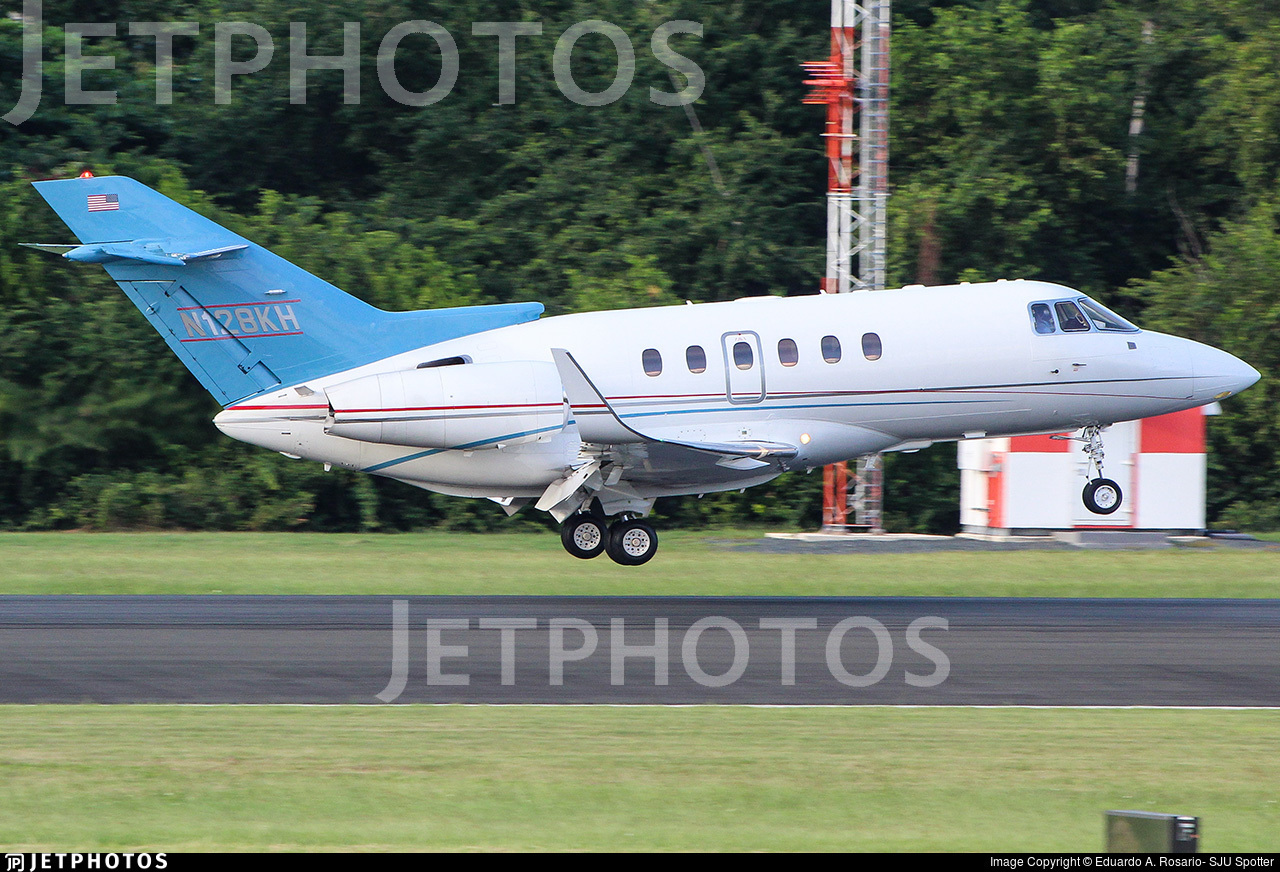 N128KH - Raytheon Hawker 800XP - Private