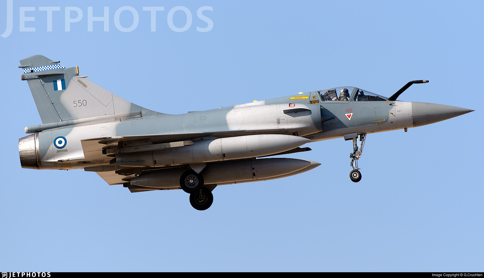 550 - Dassault Mirage 2000-5EG - Greece - Air Force