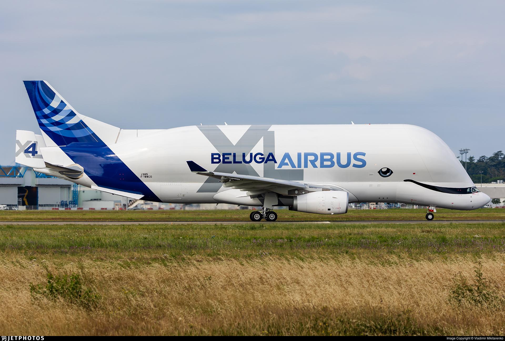 F-WWCO - Airbus A330-743L - Airbus Transport International