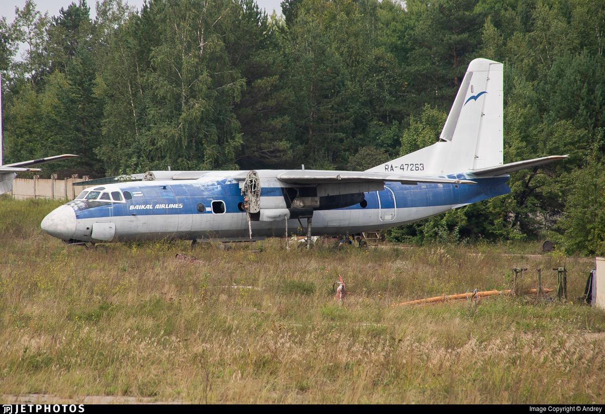 RA-47263 - Antonov An-24RV - Baikal Airlines