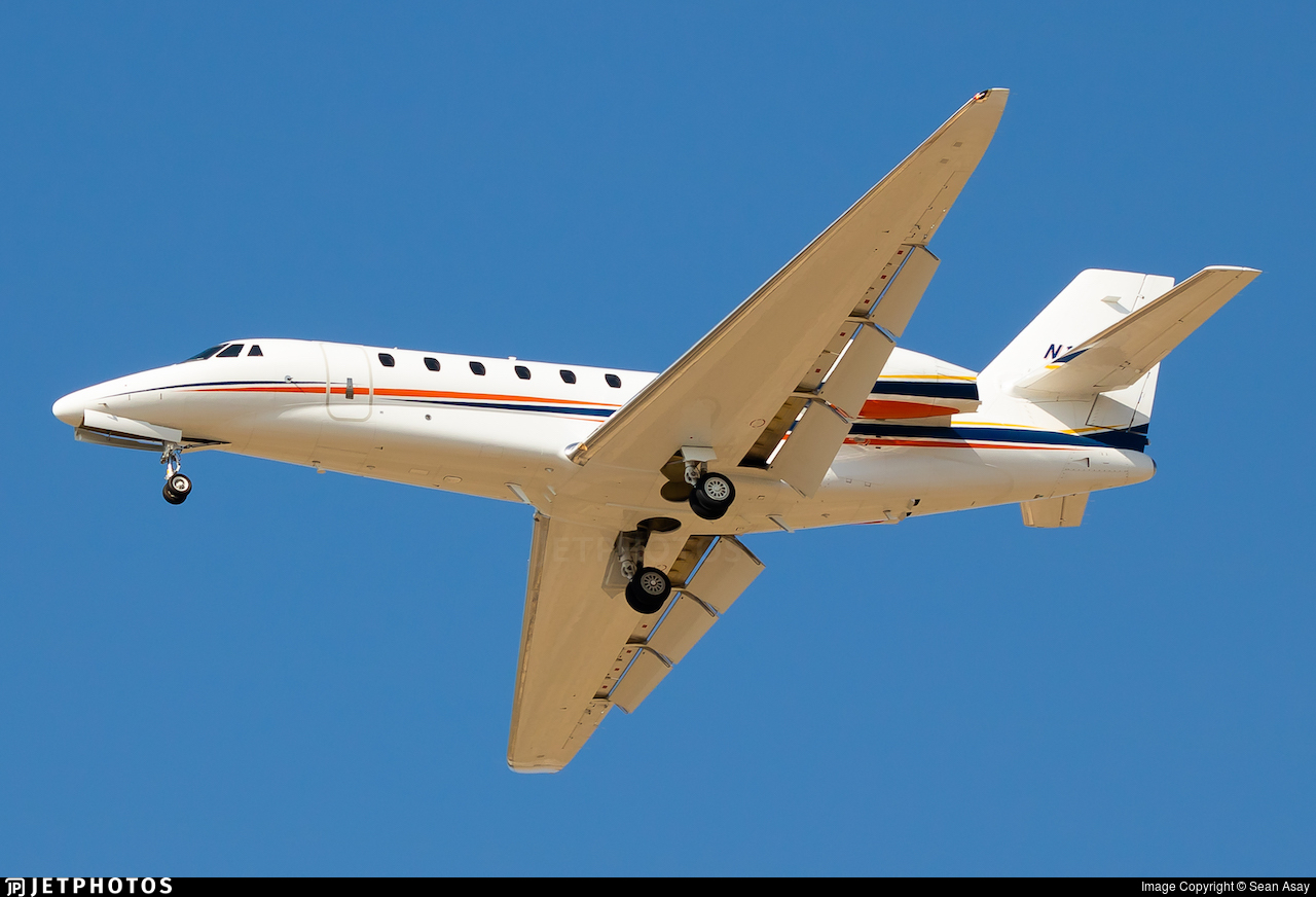 N116LW - Cessna 680 Citation Sovereign - Private