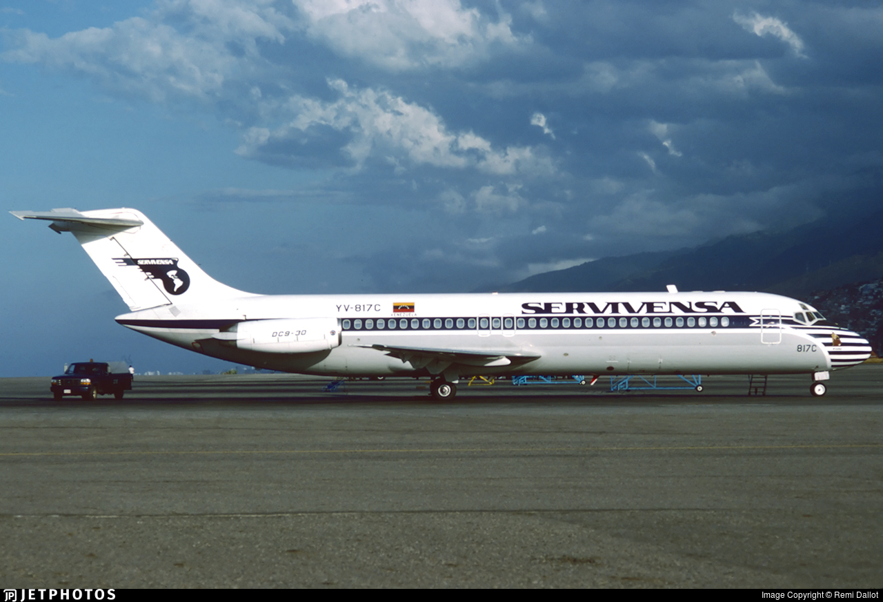 YV-817C - McDonnell Douglas DC-9-31 - Servivensa