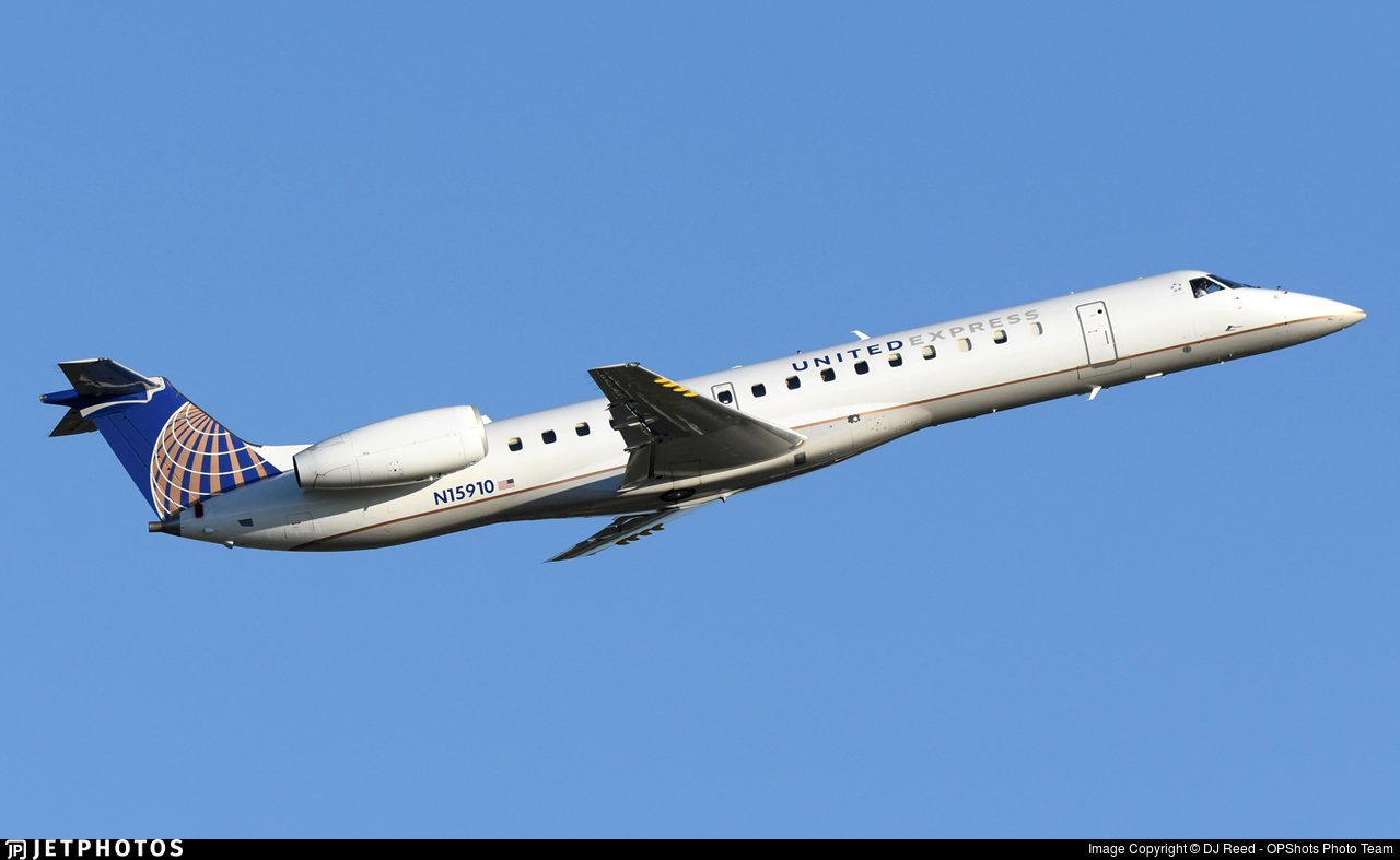 N15910 - Embraer ERJ-145LR - United Express (ExpressJet Airlines)