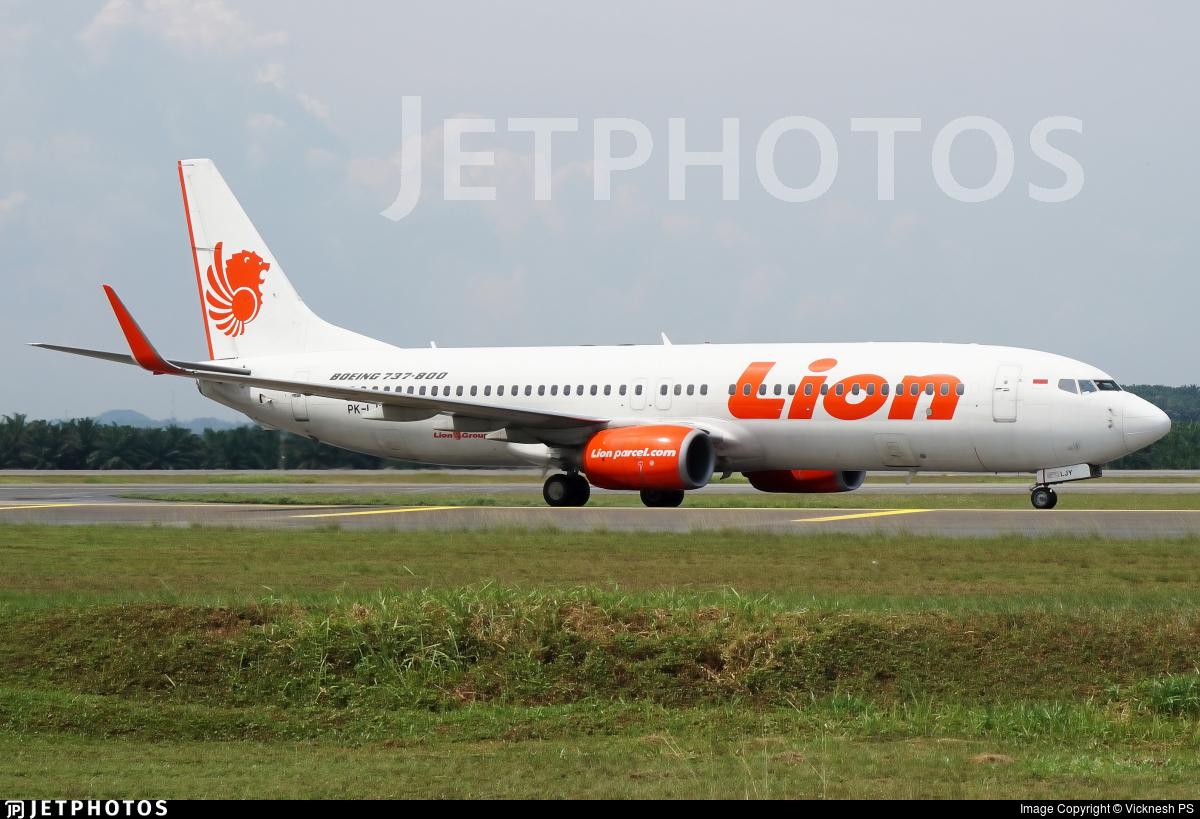 PK-LJY - Boeing 737-8GP - Lion Air