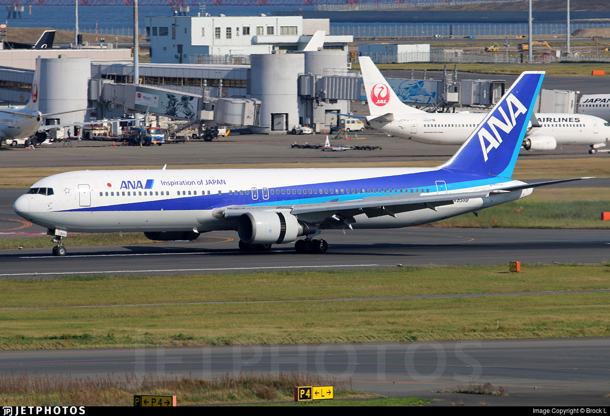 JA8568 - Boeing 767-381 - All Nippon Airways (ANA)
