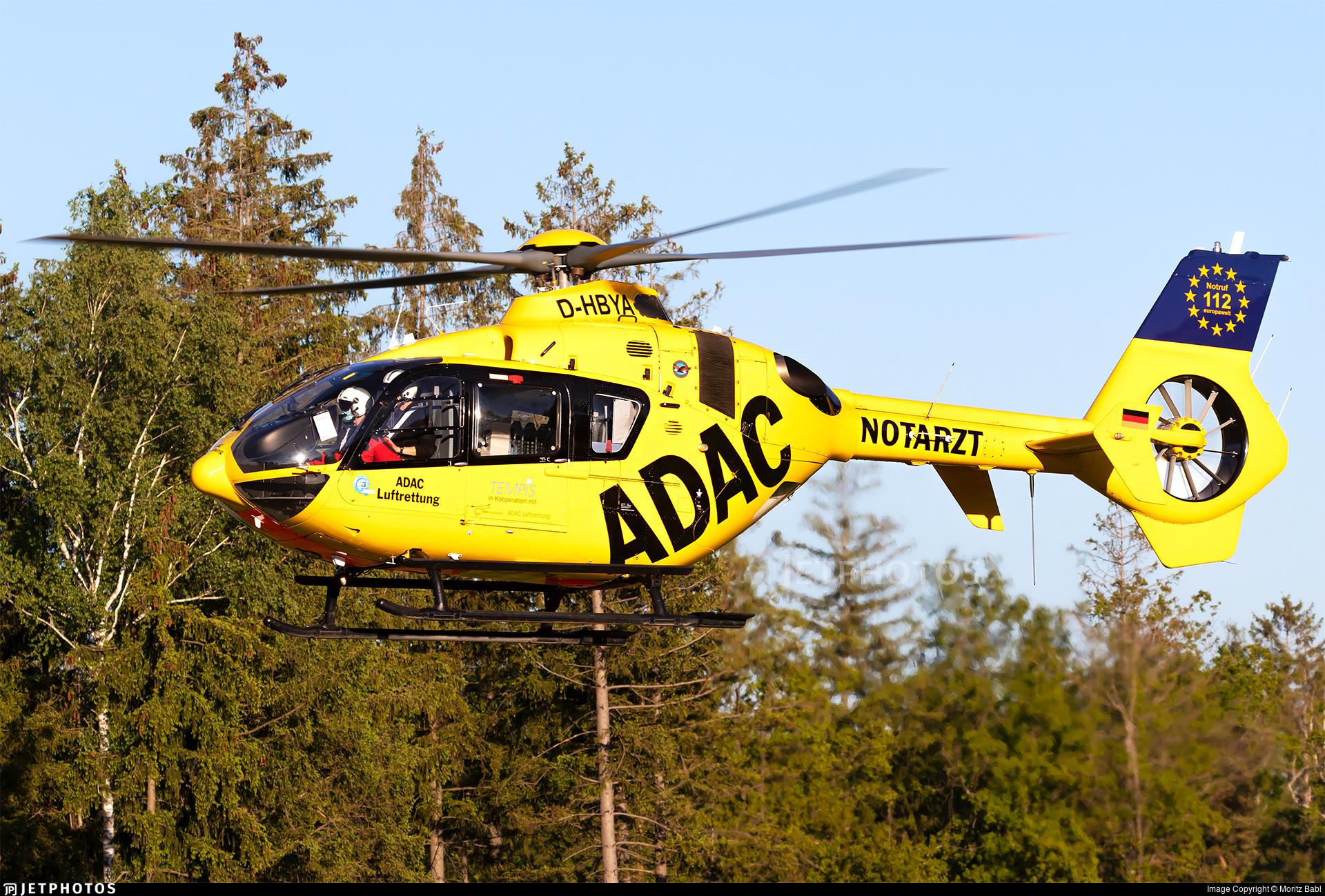 D-HBYA - Eurocopter EC 135P2 - ADAC Luftrettung