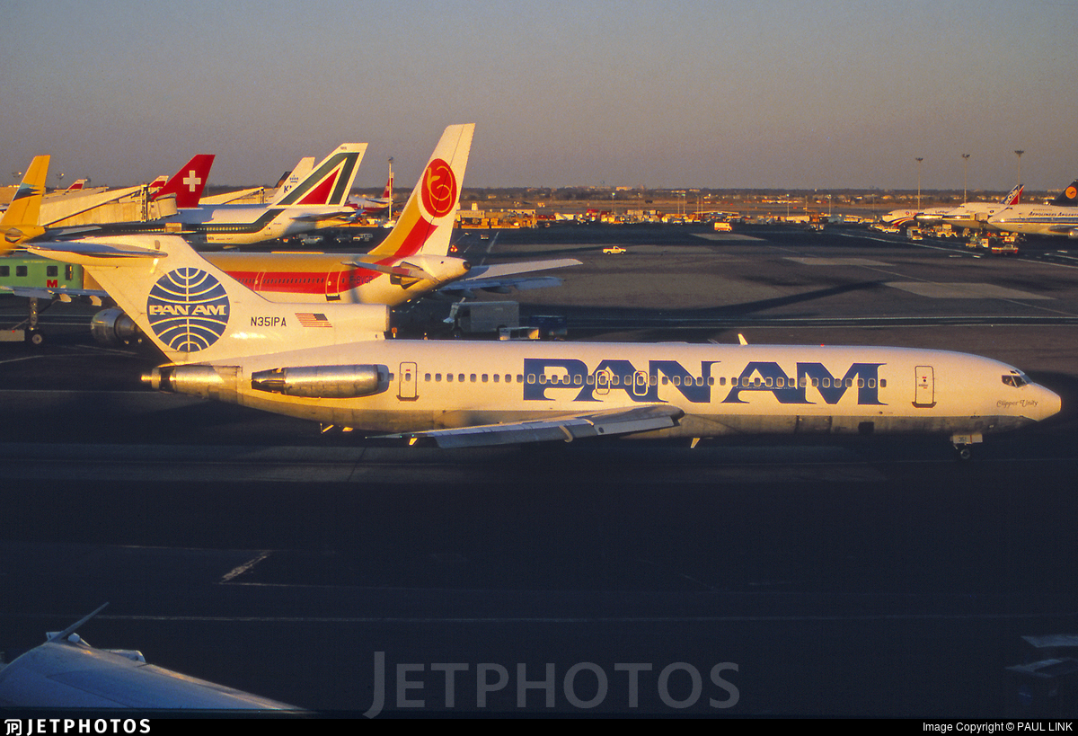 N351PA - Boeing 727-225(Adv) - Pan Am