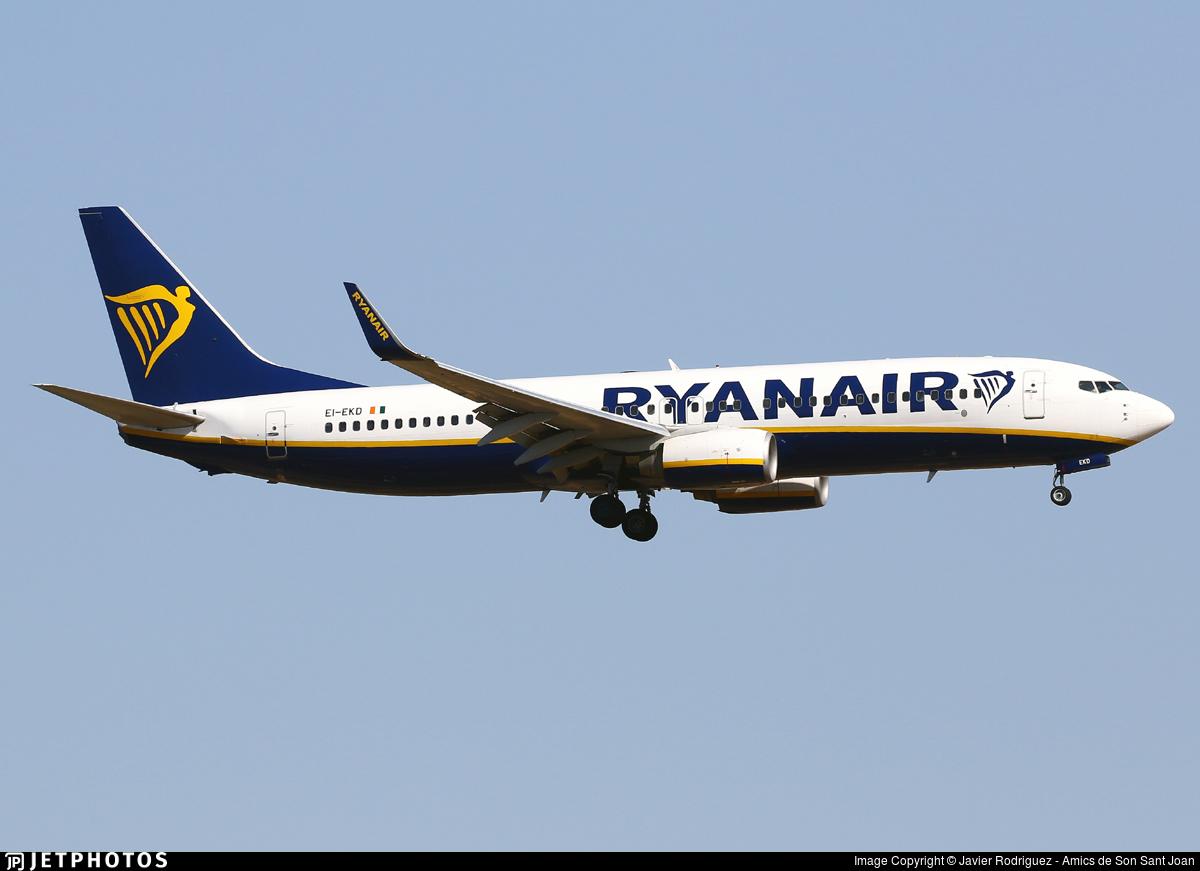 EI-EKD - Boeing 737-8AS - Ryanair