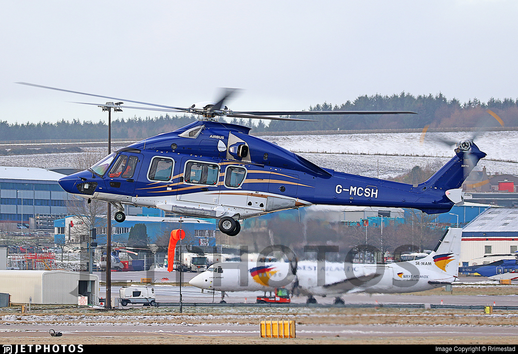 G-MCSH - Airbus Helicopters H175 - Babcock MCS Offshore