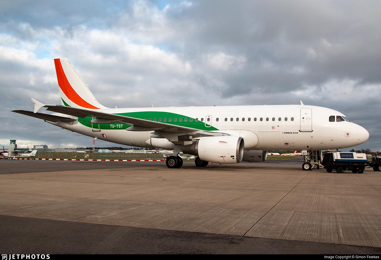 TU-TST - Airbus A319-112 - Air Côte d´Ivoire
