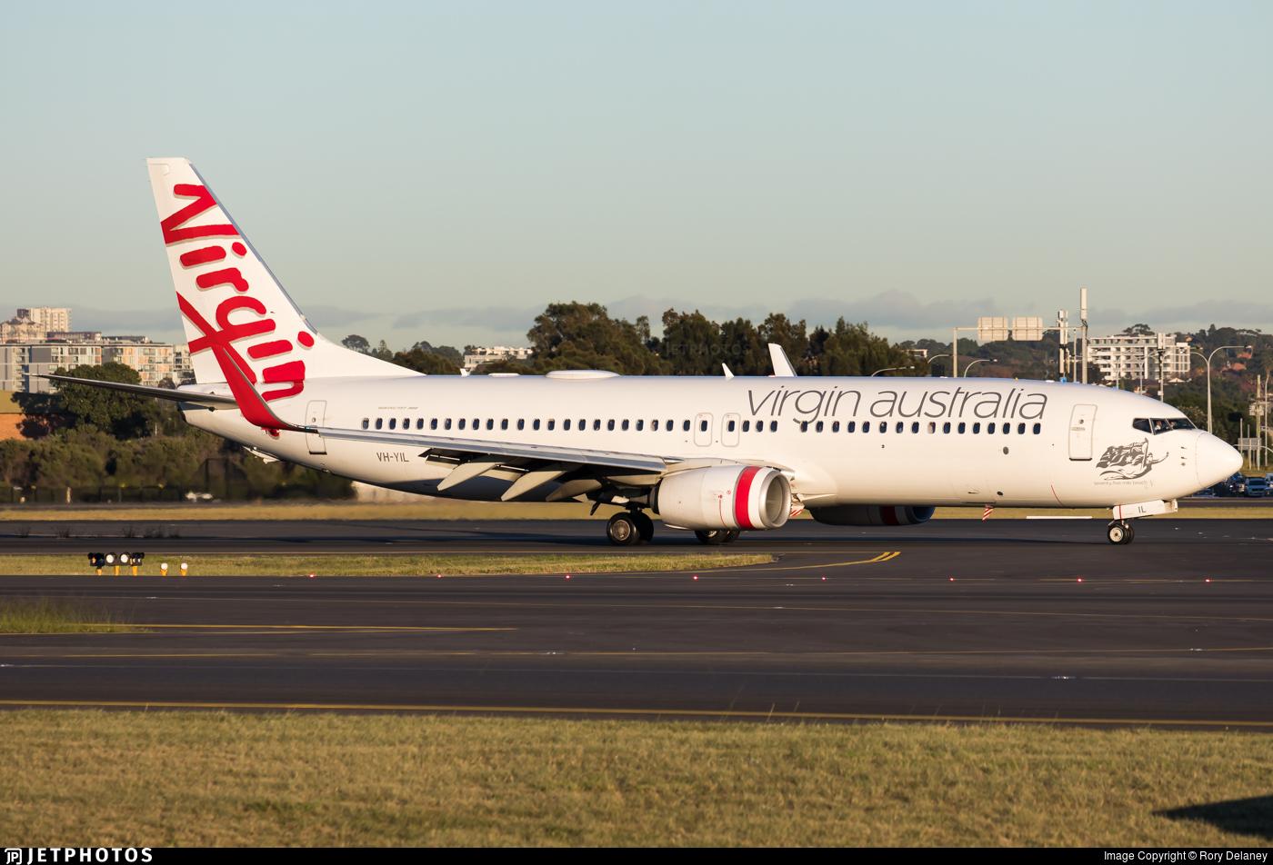 VH-YIL - Boeing 737-8FE - Virgin Australia Airlines