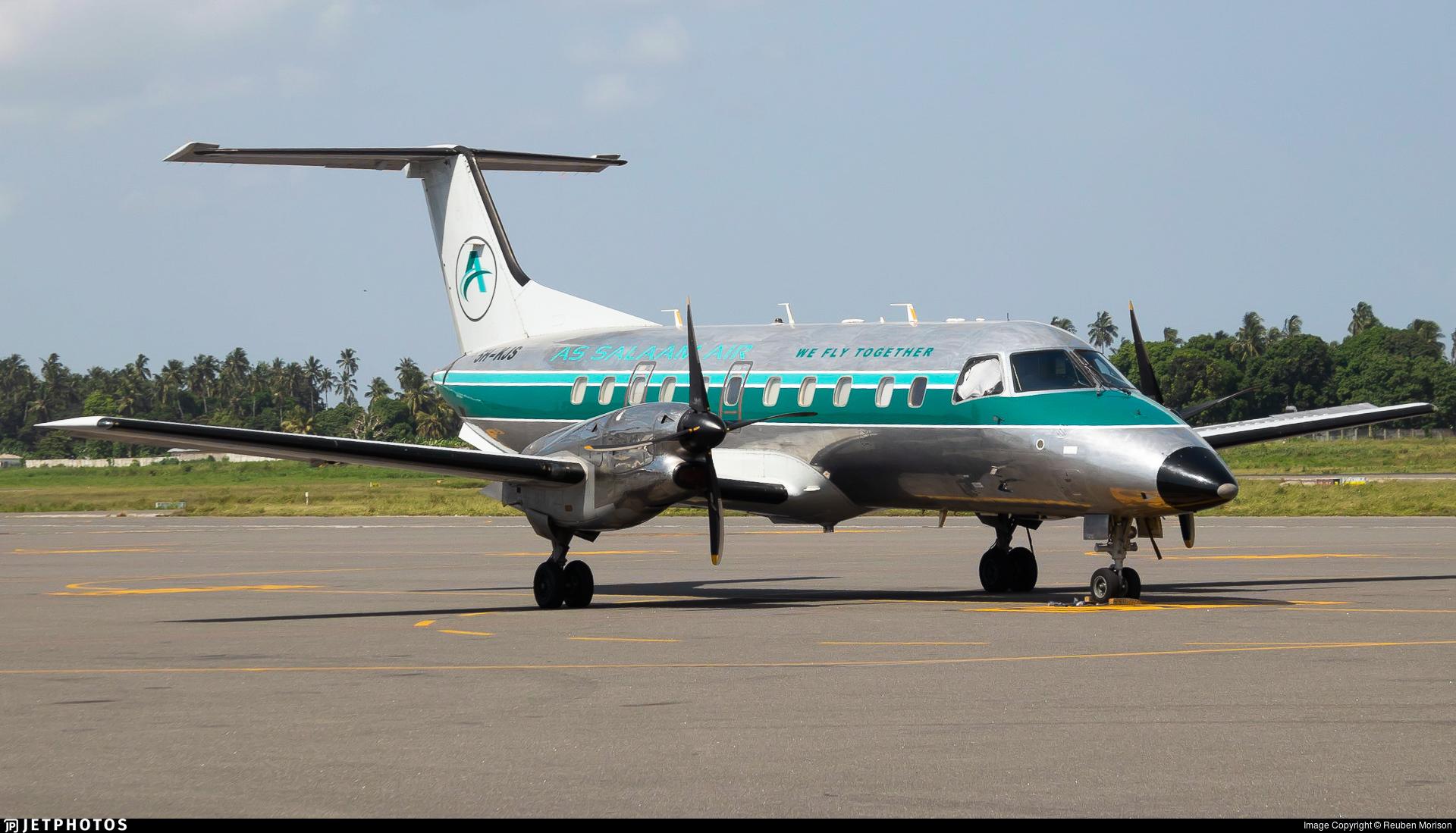 5H-KJS - Embraer EMB-120 Brasília - As Salaam Air