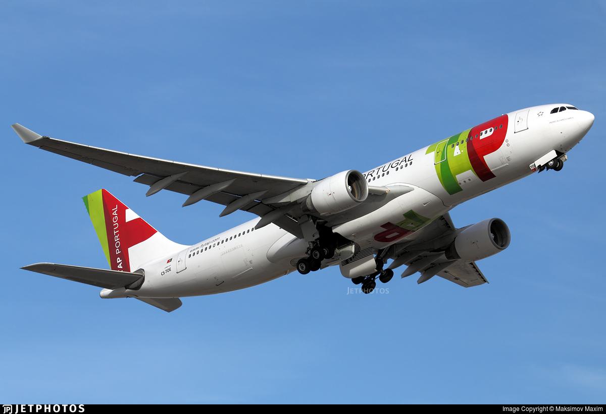CS-TOE - Airbus A330-223 - TAP Air Portugal