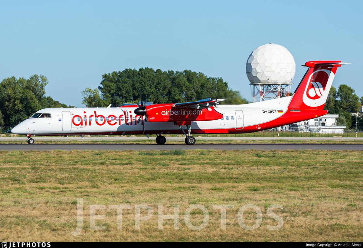 D-ABQT - Bombardier Dash 8-Q402 - Air Berlin (LGW Luftfahrtgesellschaft Walter)