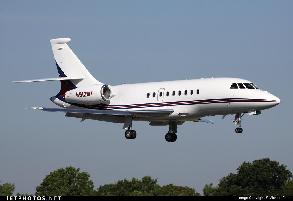 N912MT - Dassault Falcon 2000EX - Private