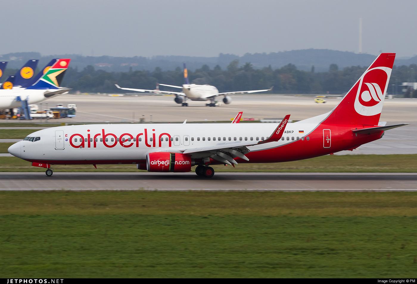 D-ABKP - Boeing 737-86J - Air Berlin
