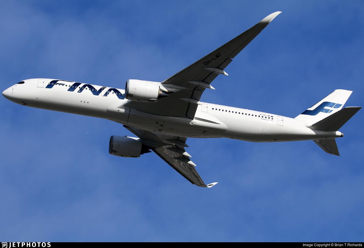 OH-LWF - Airbus A350-941 - Finnair