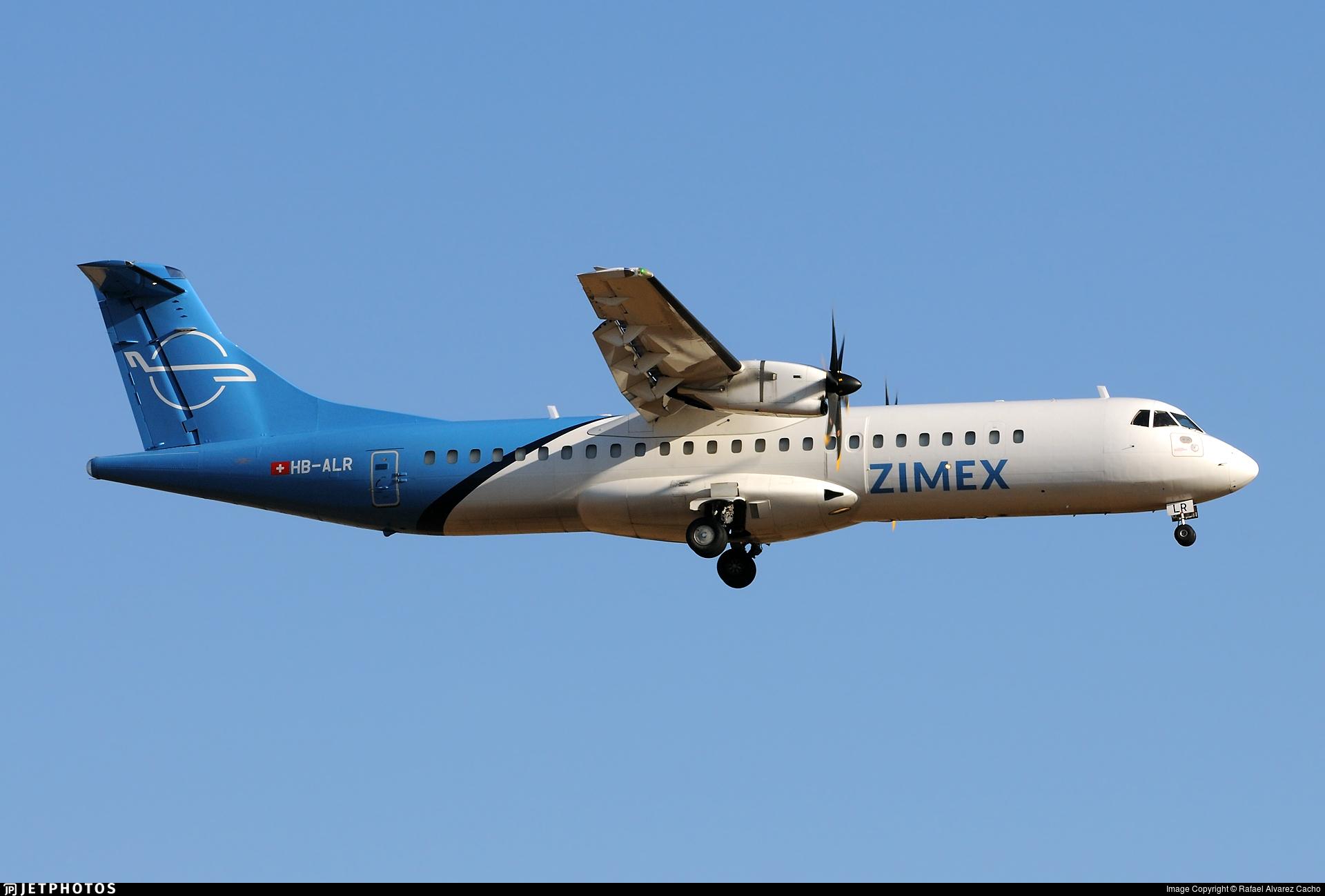 HB-ALR - ATR 72-212A(500)(F) - Zimex Aviation