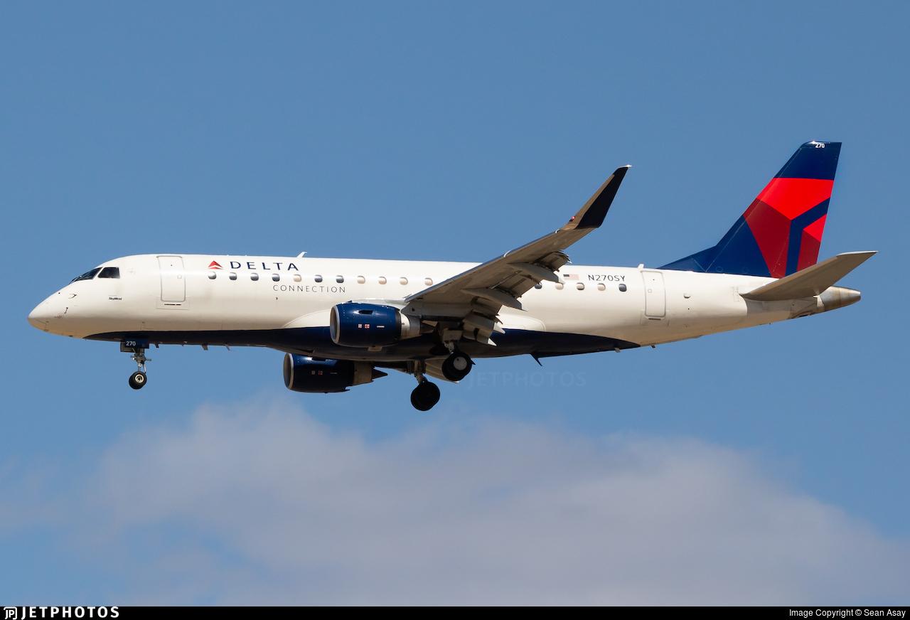 N270SY - Embraer 170-200LR - Delta Connection (SkyWest Airlines)