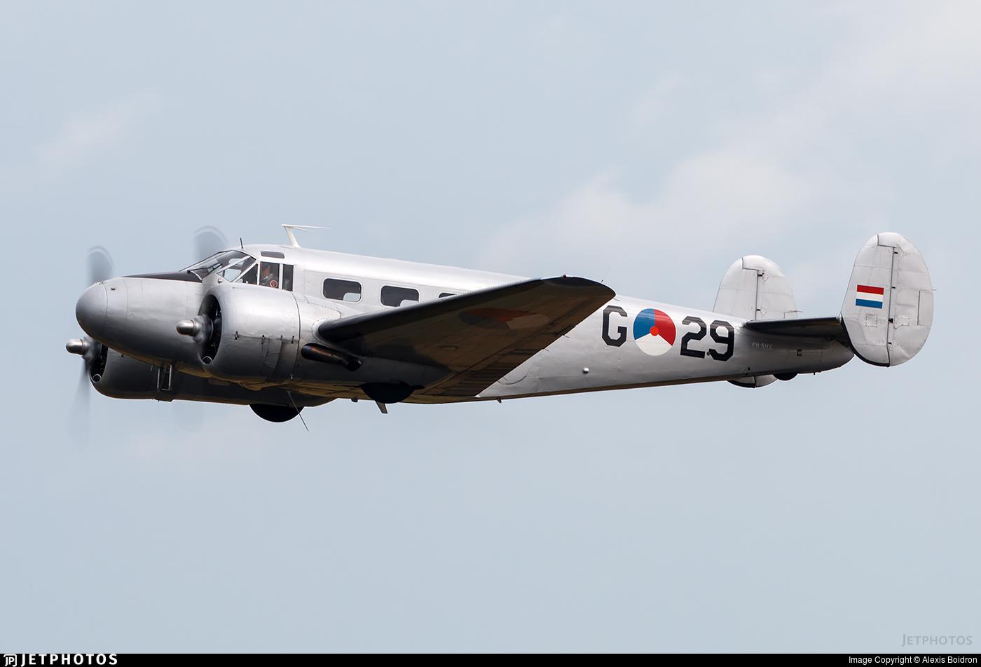 PH-KHV - Beech D18S - Netherlands - Air Force Historical Flight