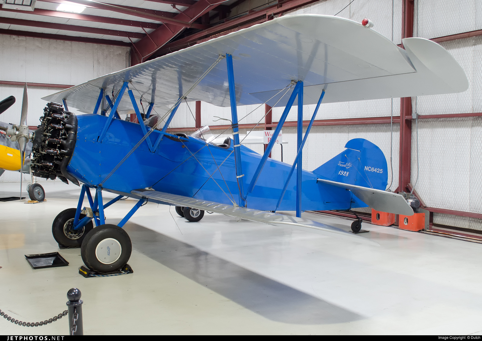 NC6425 - Curtiss-Wright Travel Air 4000 - Cavanaugh Flight Museum