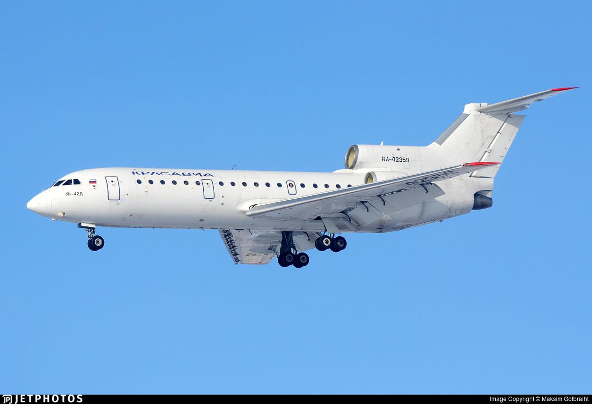 RA-42359 - Yakovlev Yak-42D - Kras Avia