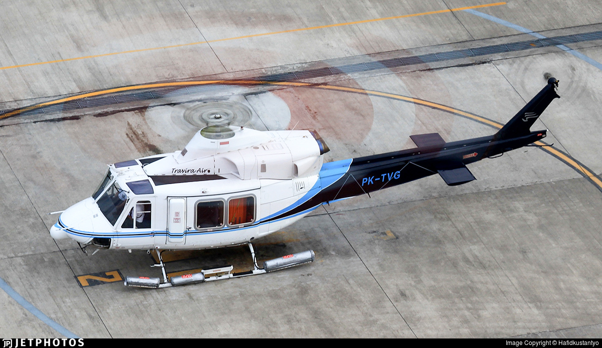 PK-TVG - Bell 412EP - Travira Air