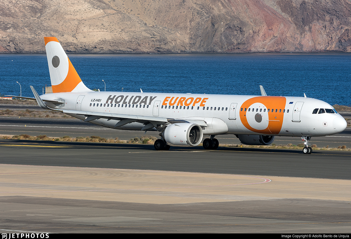 LZ-HEI - Airbus A321-253N - Holiday Europe