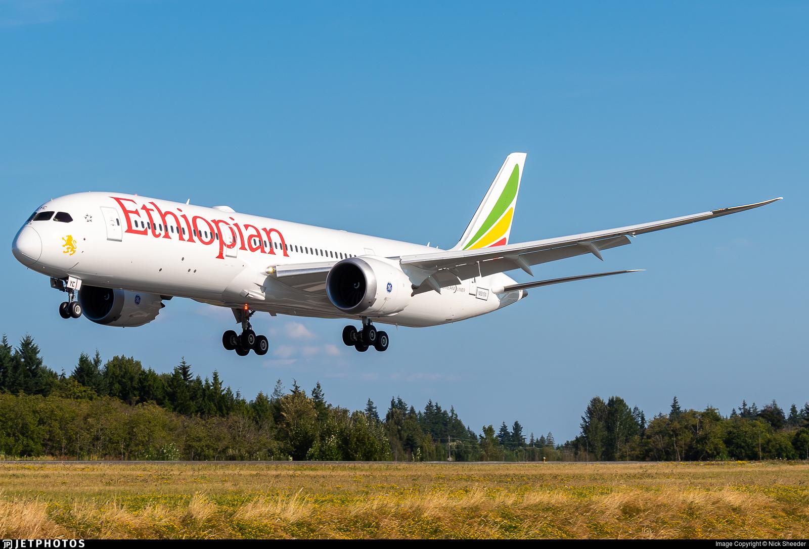 N5010N - Boeing 787-9 Dreamliner - Ethiopian Airlines