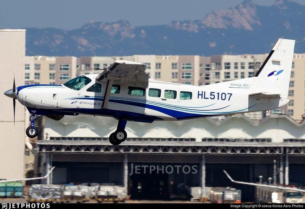 HL5107 - Cessna 208 Caravan - Sunny Air