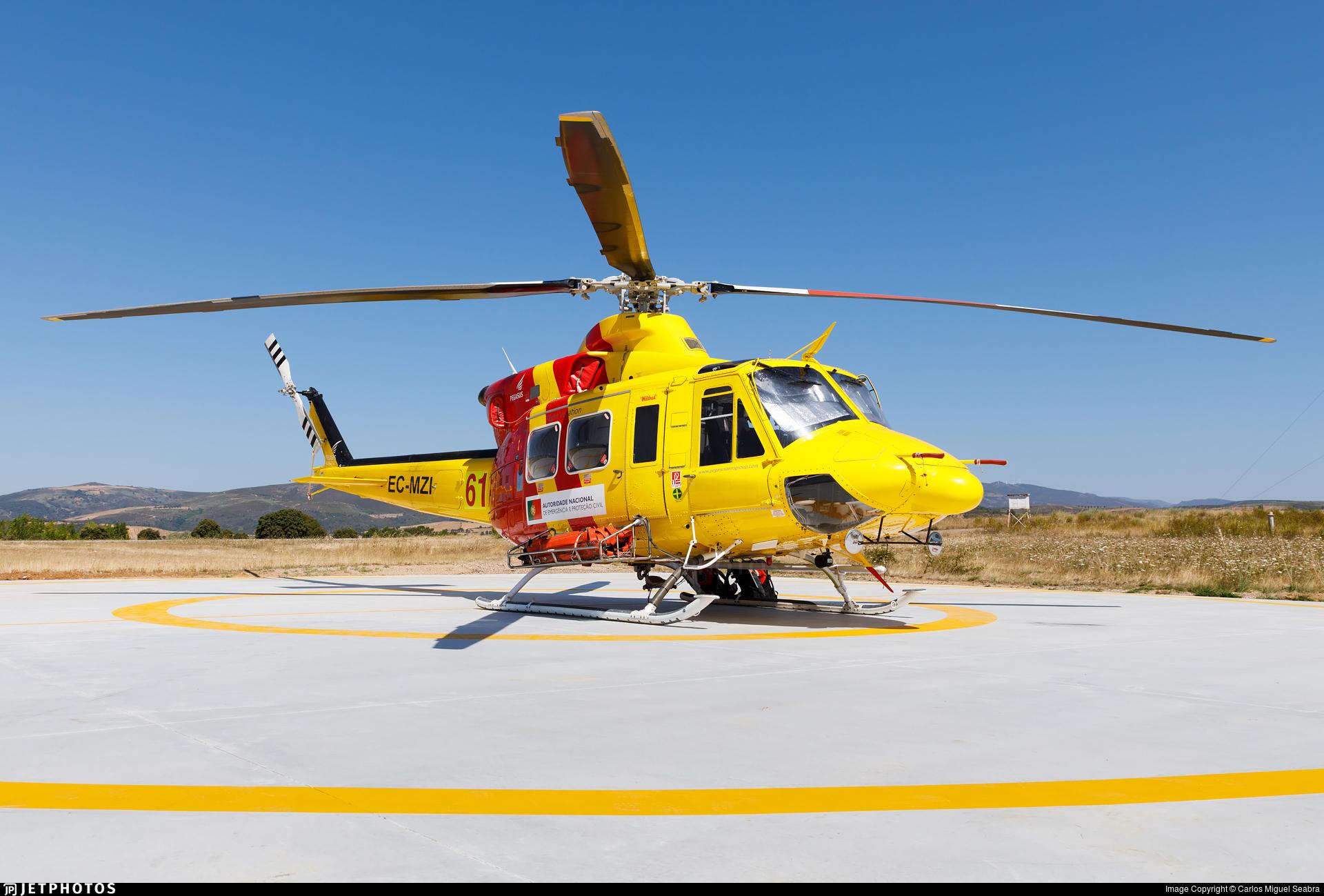 EC-MZI - Bell 412SP - Pegasus Aviation