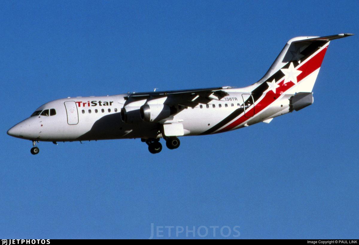 N136TR - British Aerospace BAe 146-200A - Tristar Air