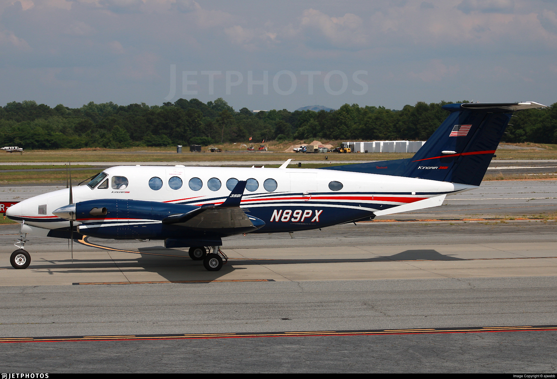 N89PX - Beechcraft B300 King Air 350i - Private