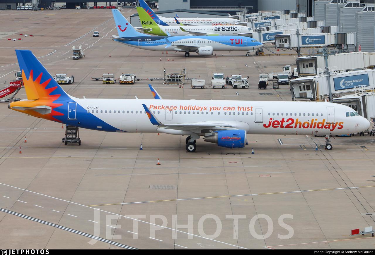 G-HLYF - Airbus A321-211 - Jet2.com