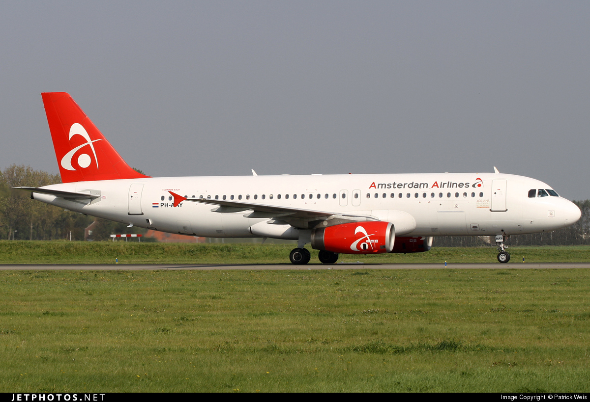 PH-AAY - Airbus A320-232 - Amsterdam Airlines