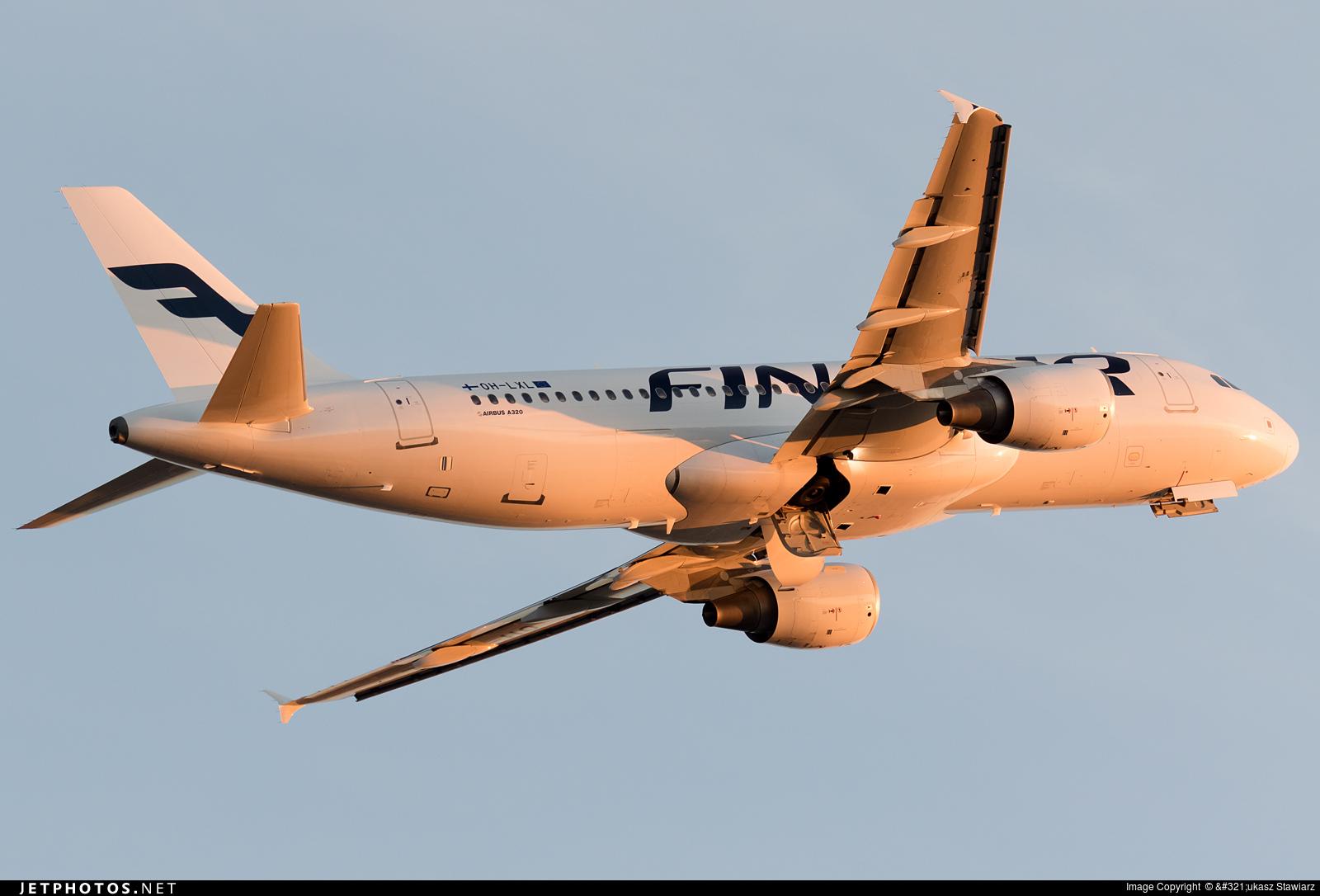 OH-LXL - Airbus A320-214 - Finnair