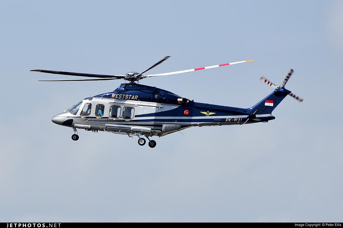 PK-WAI   Agusta-Westland AW-139   Weststar Aviation ...