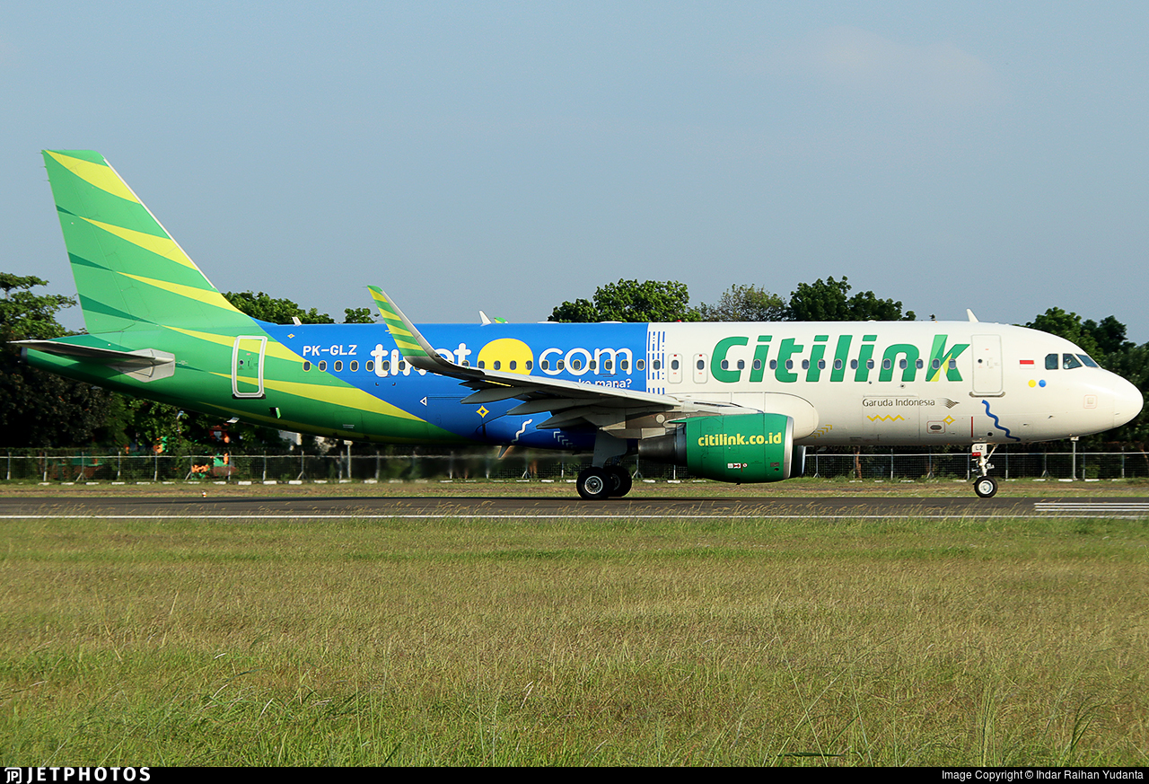 PK-GLZ - Airbus A320-214 - Citilink