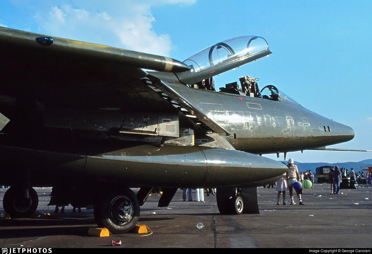 GT-826 - North American TF-100F Super Sabre - Denmark - Air Force