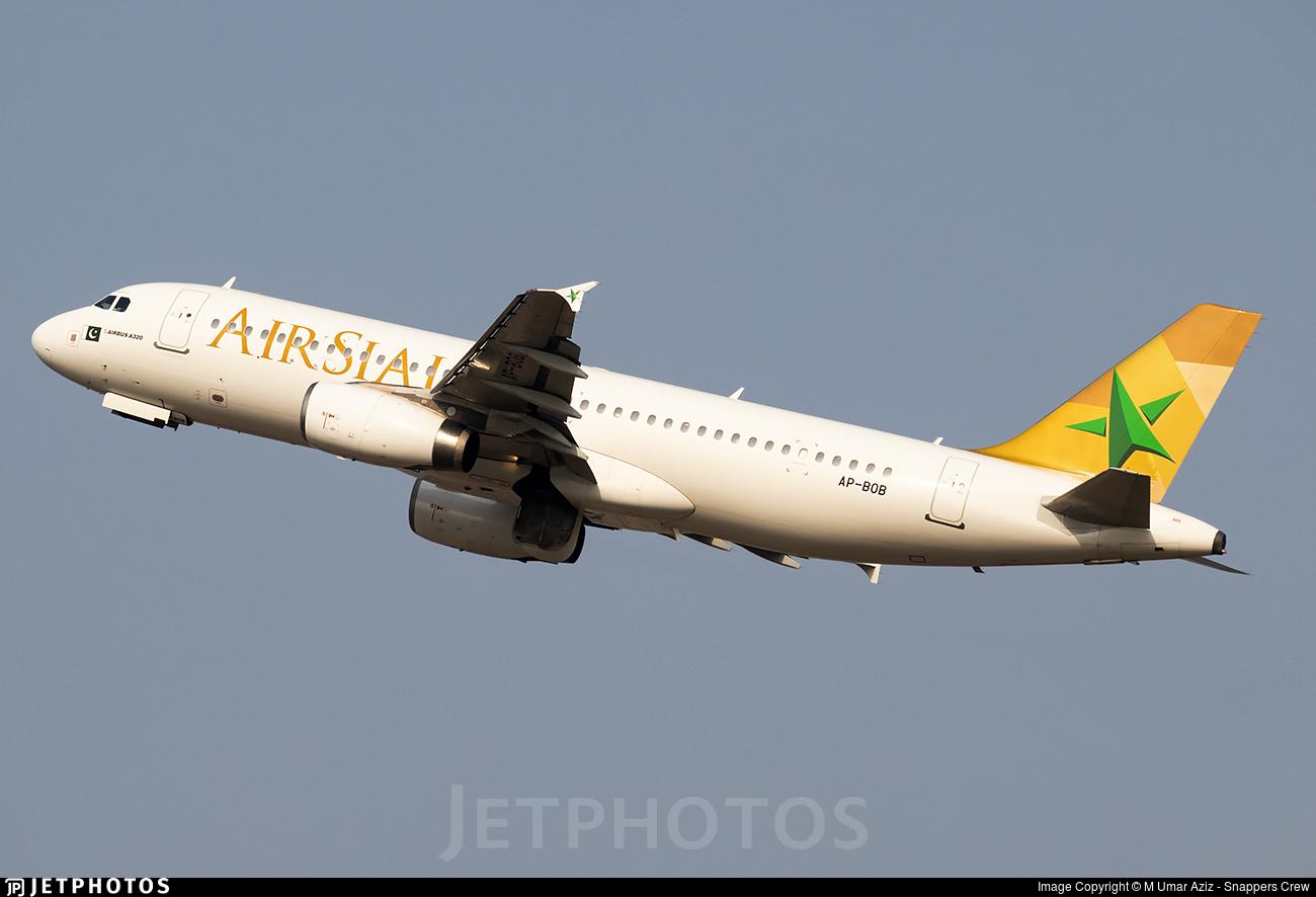 AP-BOB - Airbus A320-233 - AirSial