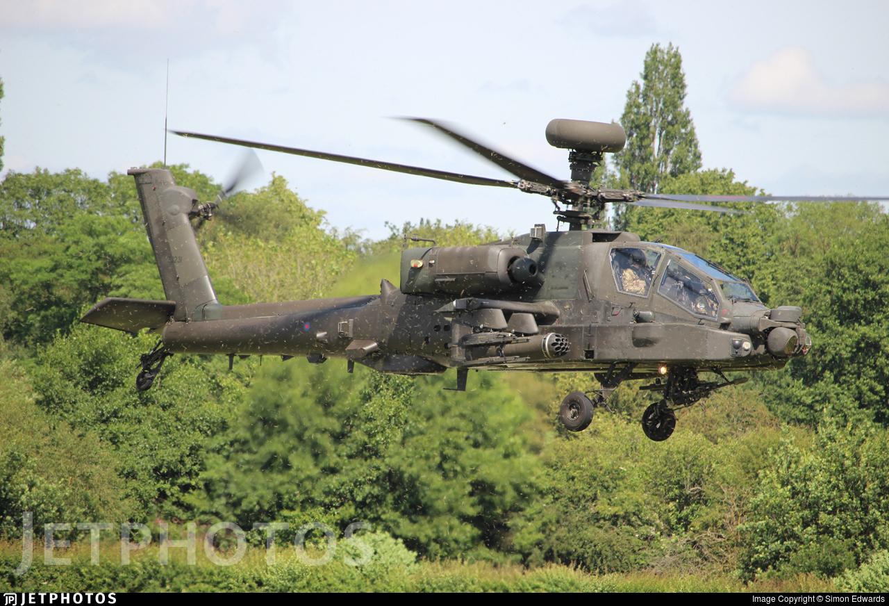 ZJ231 - Westland Apache AH.1 - United Kingdom - Army Air Corps