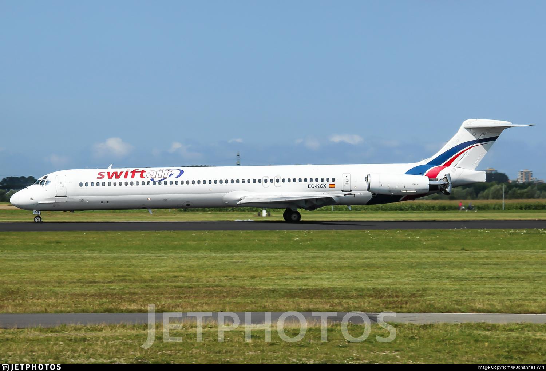 EC-KCX - McDonnell Douglas MD-83 - Swiftair