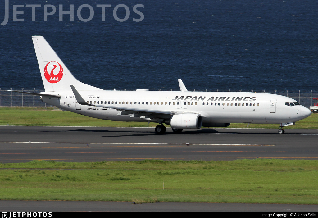 JA331J - Boeing 737-846 - Japan Airlines (JAL)