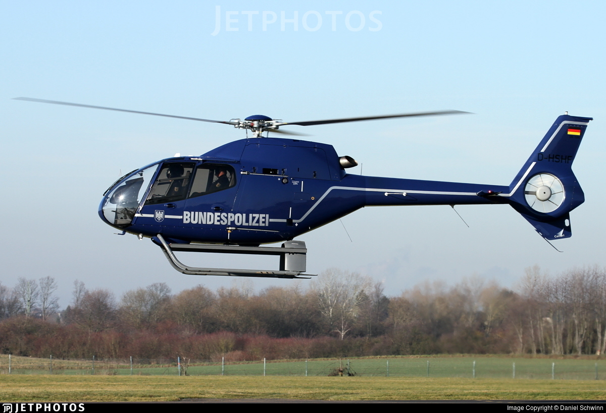 D-HSHF - Eurocopter EC 120B Colibri - Germany - Bundespolizei