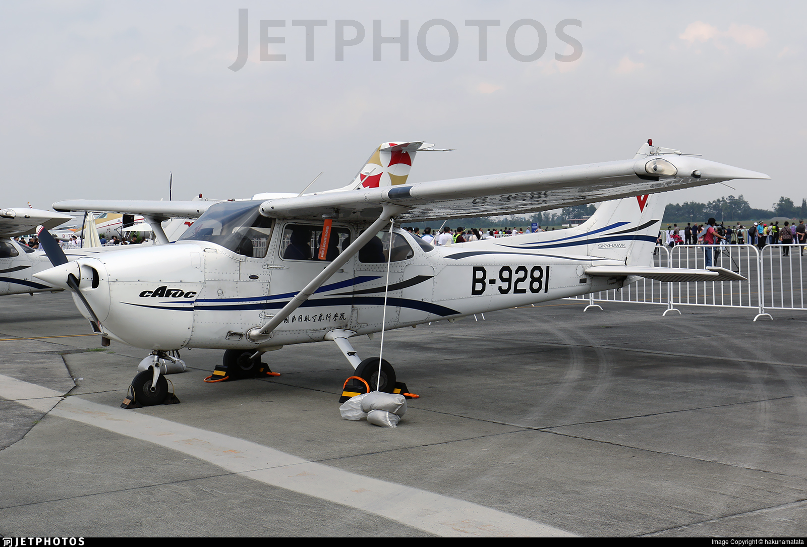 B-9281 - Cessna 172R Skyhawk - Civil Aviation Flight University of China