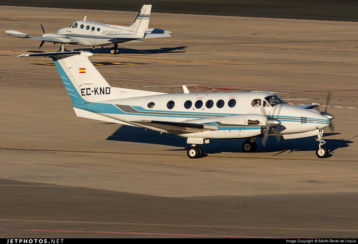 EC-KND - Beechcraft B200 Super King Air - Urgemer Canarias
