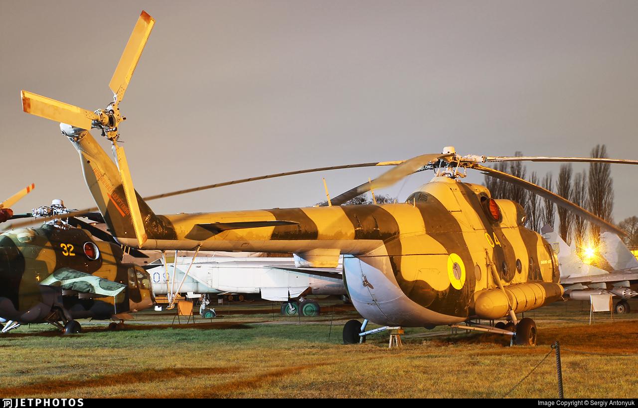 04 - Mil Mi-8MT Hip - Ukraine - Air Force